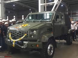 paramount marauder camouflaged tata defence vehicle spotted on mumbai pune expressway