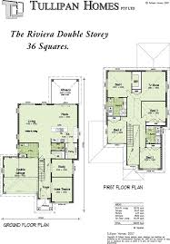 double storey floor plans 36 square double storey home design home design tullipan homes