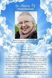 memorial card memorial cards online memorial card templates for funerals