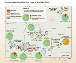 Montana On A Map by Usgs Assesses Mineral Potential For Sagebrush Habitats In Six