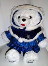 stuffed teddy bears walmart com dan dee dandee white snowflake teddy bear 2005 large dandee