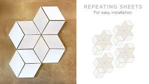 modern kitchen design using diamond tiles mercury mosaics