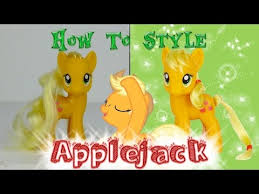 applejack hairstyles mlp applejack hair styling tutorial how to style applejack my