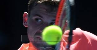 us open table tennis 2018 dimitrov picks up four set win over rublev at australian open 2018