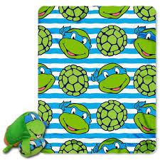 kids room nickelodeon teenage mutant ninja turtles zip pillow