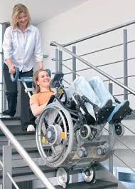 powered stair transport for wheelchair abledata