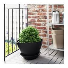 Indoor Planter Pots by Bigarrå Plant Pot With Saucer 12