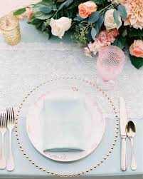 wedding plate the prettiest place settings from real celebrations martha