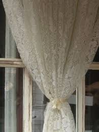 Heirloom Lace Curtains Lace Valances And Lace Curtains On Pinterest