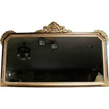 antique victorian french rococo gold gilt wood frame ornate wall