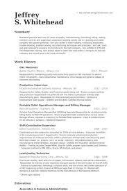 Office Coordinator Resume Samples Visualcv Resume Samples Database by Sample Machinist Resume Machinist Resume