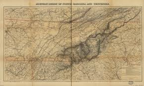 Maps Tennessee by Lincoln Maps And The Invasion Of East Tennessee Mapping The
