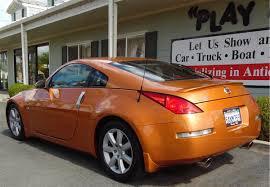 orange nissan 350z 2003 nissan 350z coupe