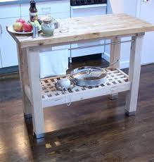 ikea groland kitchen island best products ikea groland butcher block island apartment therapy
