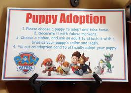 mom u0027s tot paw patrol puppy party