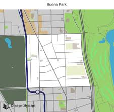 Census Tract Map Chicago by Map Of Building Projects Properties And Businesses In Buena Park