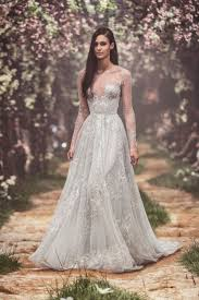 wedding dress version lyrics pss s1813 tulle sleeved gown with nightingale embroidery and the