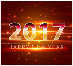 electronic new year cards 2017 new year card design with classical clock vectors stock in
