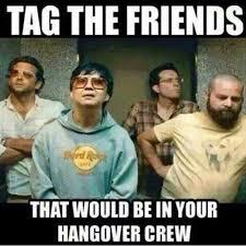 Hangover Memes - hangover movie meme on instagram