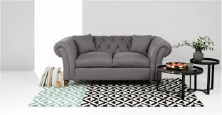 gray chesterfield sofa gray chesterfield sofa luxury bardot 2 seater chesterfield sofa