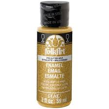 folkart enamel gloss finish acrylic paint colors by plaid