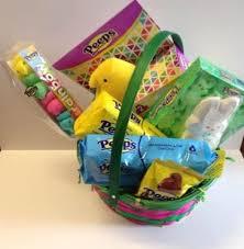 peeps basket peeps easter gift basket