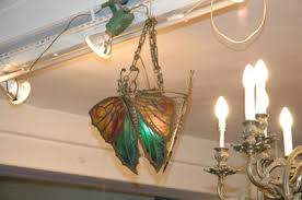 Butterfly Chandelier Art Nouveau Butterfly Chandelier