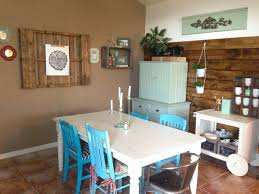 the baeza blog wood plank accent wall dining room