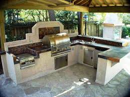 how to build an outdoor kitchen island great diy bbq island plans