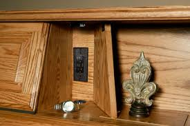 secret areas and compartments in furniture