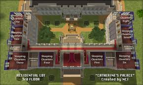 house plan mod the sims nci catherines palace catherine floor best