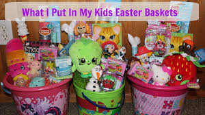 easter baskets for kids easter basket ideas 2016