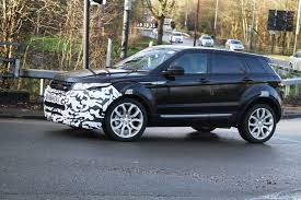 new land rover evoque 2015 range rover evoque spied how to facelift the impossible by