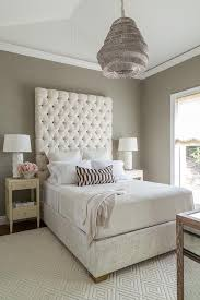 gray diamond tufted velvet tall headboard bed