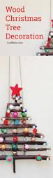 Christmas Tree Decoration Craft Ideas - dry twig christmas tree decor kids crafts craftbits com