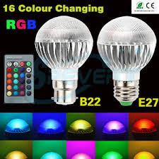 color changing flood light bulb 5w e27 b22 rgb led bulb 16 colors changing spot flood light l 85