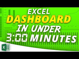 youtube pivot tables 2016 excel pivot table dashboard in under 3 minutes excel 2016 2013