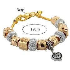 pandora bracelet murano glass images 18k gold plated pandora inspired charm bracelet murano glass the jpg