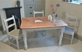 Painted Kitchen Tables Distressed Painted Pine Kitchen Table - Pine kitchen tables and chairs