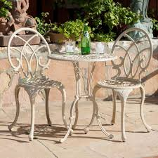 Cast Iron Patio Table And Chairs by Aluminum Patio Dining Sets Patio Design Ideas Metal Furniture
