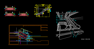 motorcycles cad blocks elevation free download staircase block