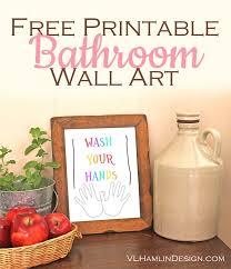 design your bathroom free free printable bathroom wall food design