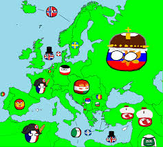 Europe Map Quiz Game by Image 1914 Map Of Europe In Countryballs Png