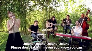 miley cyrus jolene backyard session hd lyrics in video