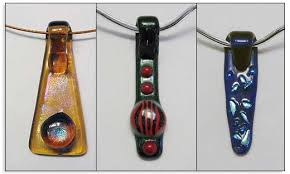 making glass necklace pendants images Fold over pendant tutorial jpg