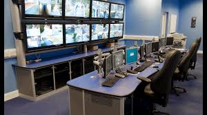 pelco cctv control room industrial integration it control room