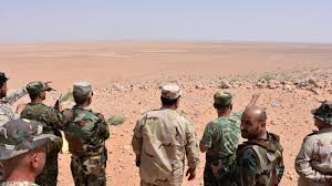 siege army syrian army thrusts east to siege of deir ezzor city al shahid