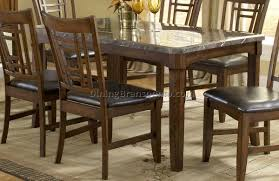 faux marble top dining table set bruce 5 piece counter height