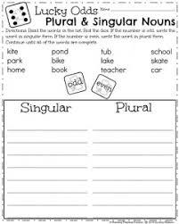 noun worksheets 1st grade worksheets
