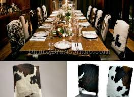 Cowhide Dining Room Chairs Cowhide Chairs For Dining Room Black Round Glass Dining Table